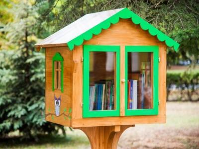 Lauko bibliotekėlė Tursučiuose